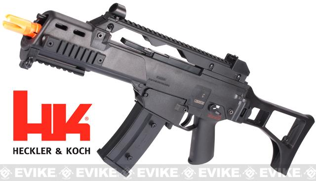 Pre-Order ETA March 2018 H&K G36C Competition Series Airsoft AEG Rifle by Umarex - Black