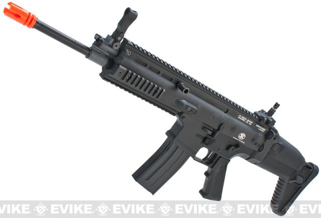 Pre-Order ETA September 2018 FN Herstal Full Metal SCAR Light Airsoft AEG Rifle by VFC (Model: Standard / Black)