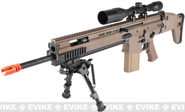 FN Herstal Full Metal SCAR Heavy Airsoft AEG Rifle by VFC (Model: MK17 SSR / Dark Earth)