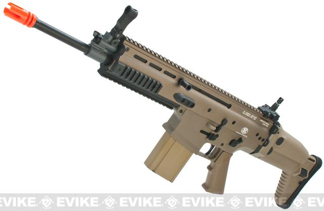 Cybergun FN Herstal Licensed Full Metal SCAR Heavy Airsoft AEG Rifle by VFC (Model: Standard / Dark Earth)