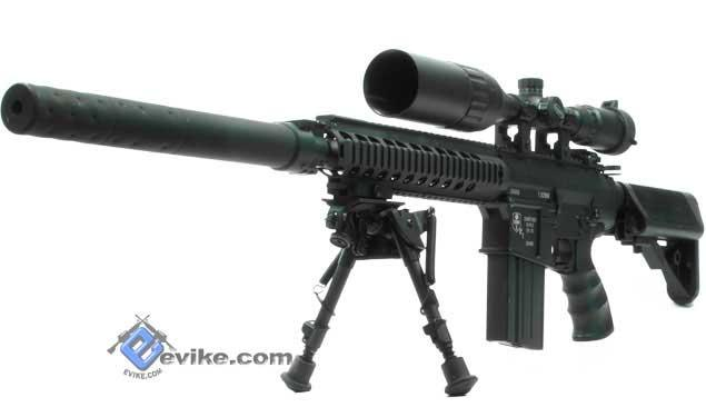 Bone Yard - Echo1 ER25K Full Metal Airsoft AEG Rifle (Store Display, Non-Working Or Refurbished Models)