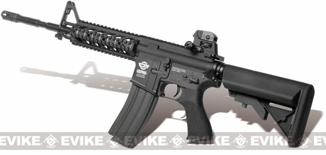 Pre-Order ETA June 2018 G&G Combat Machine 16 Raider Airsoft AEG Rifle (Package: Black / Gun Only)