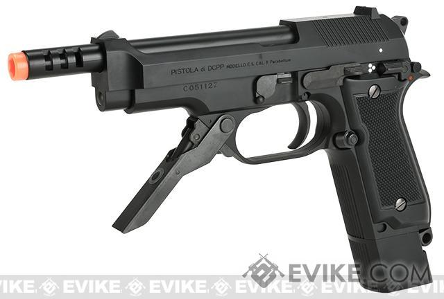 Tokyo Marui Full Size M93R Airsoft AEP Pistol (Color: Black)