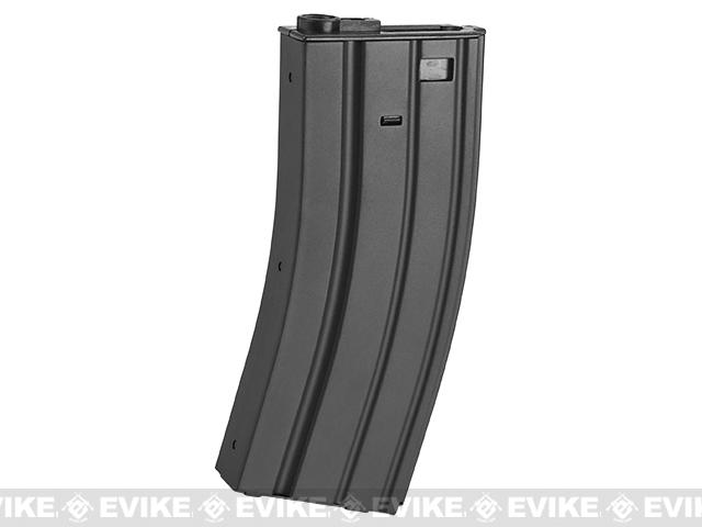 APS 300rd Full Metal Hi-Capacity Magazine for M4 / M16 / UAR Series Airsoft AEG Rifles (Color: Black)