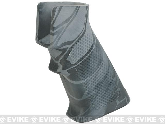 APS Motor Grip for M4/M16 Airsoft AEGs (Color: Kryptek Typhon)