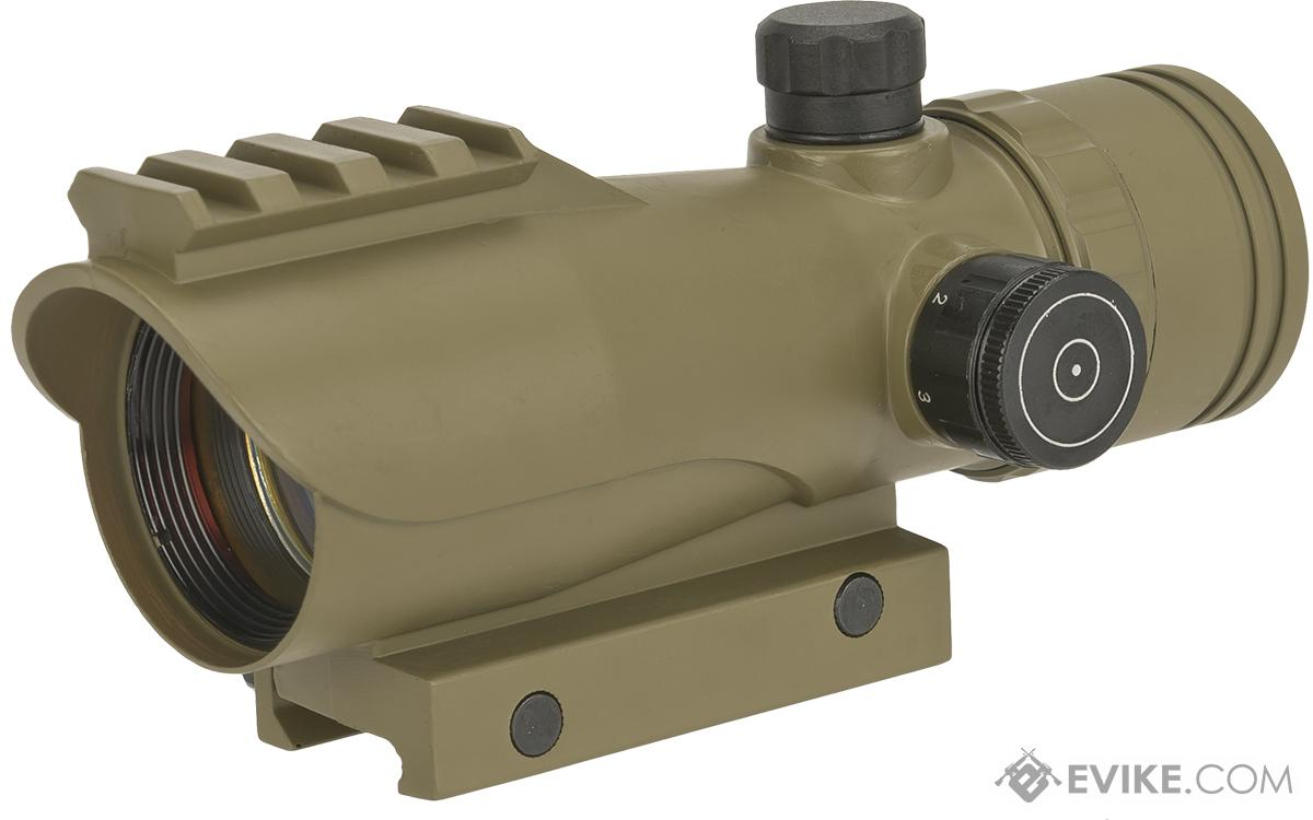 AIM Sports 1x30 Large Red Dot Battle Sight (Color: Tan)