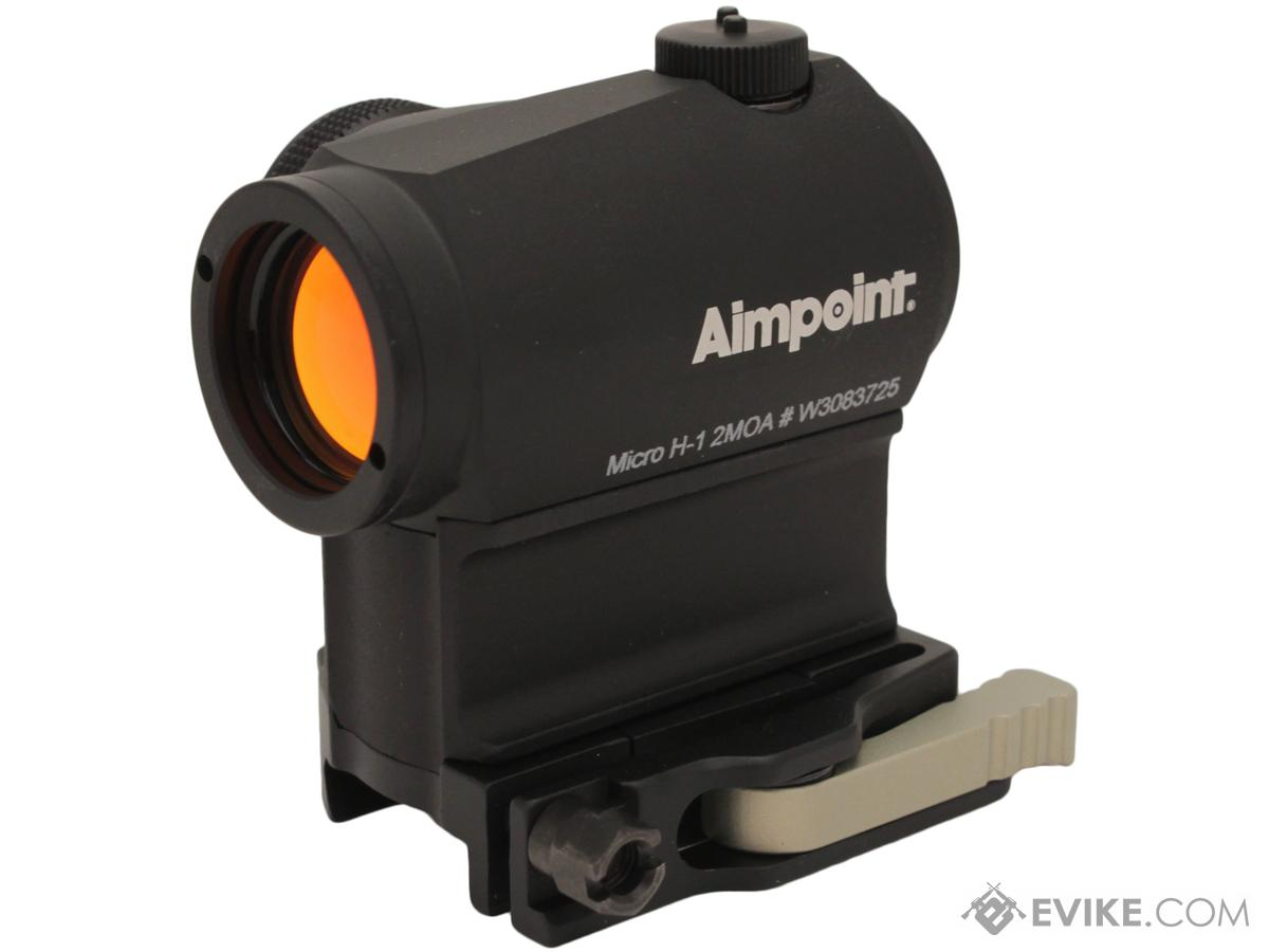Aimpoint Micro H-1 2 MOA Red Dot Sight w/ AR15 Ready 39mm LRP Mount