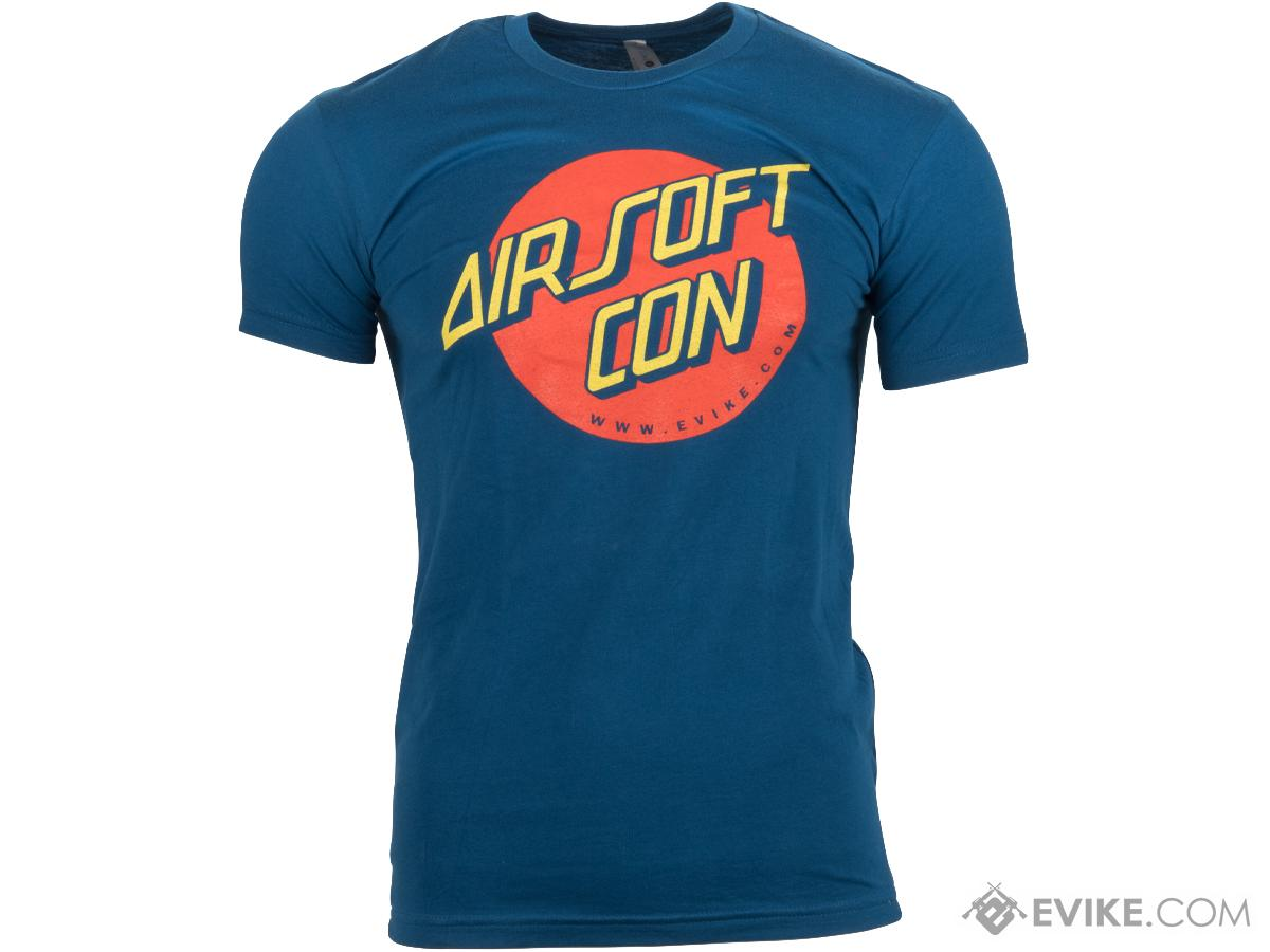 Evike.com AirsoftCON 2017 Graphic Tee by Guardian Apparel (Size: Blue / Small)