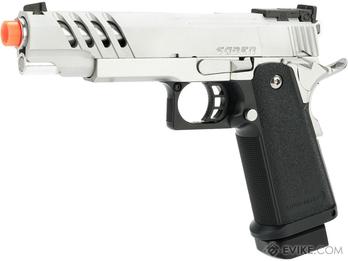 Evike.com Tokyo Marui / Airsoft Masterpiece 5.1 Hi Capa Saber Custom Gas Blowback Airsoft Pistol