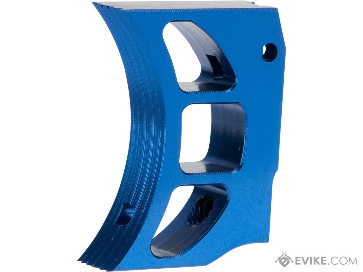 Airsoft Masterpiece Aluminum Trigger - Type 11 (Color: Blue) | Evike.com