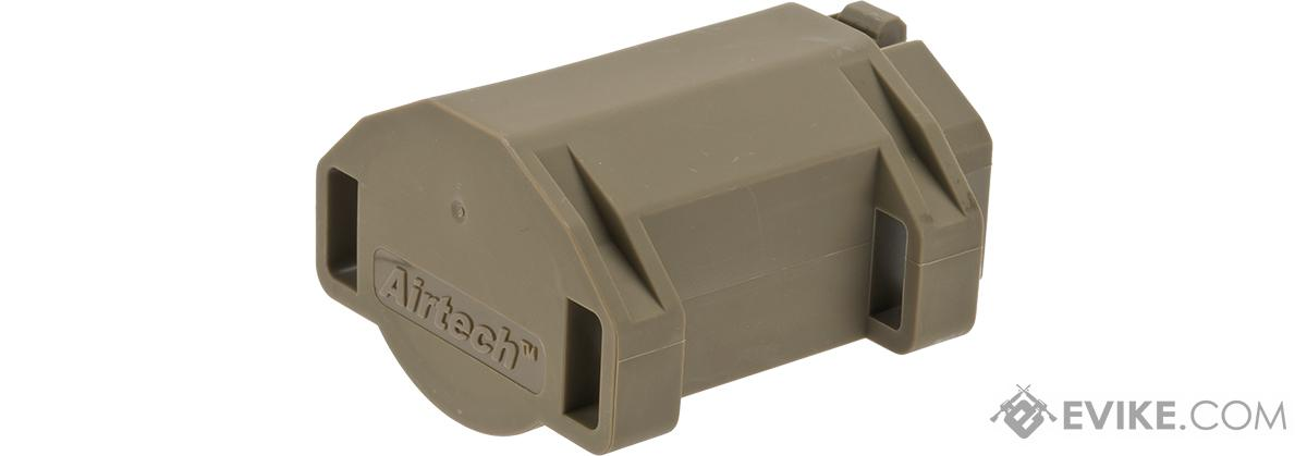 Airtech Studios BEUTM Battery Extension Unit for AM-013/AM-014/AM-015 Series Amoeba Airsoft AEGs - Dark Earth