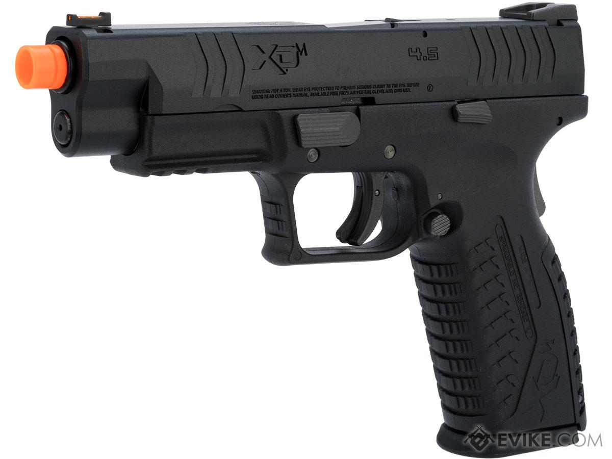 Springfield Armory Licensed XDM Gas Blowback Airsoft Training Pistol (Model: 4.5 Duty / Black)
