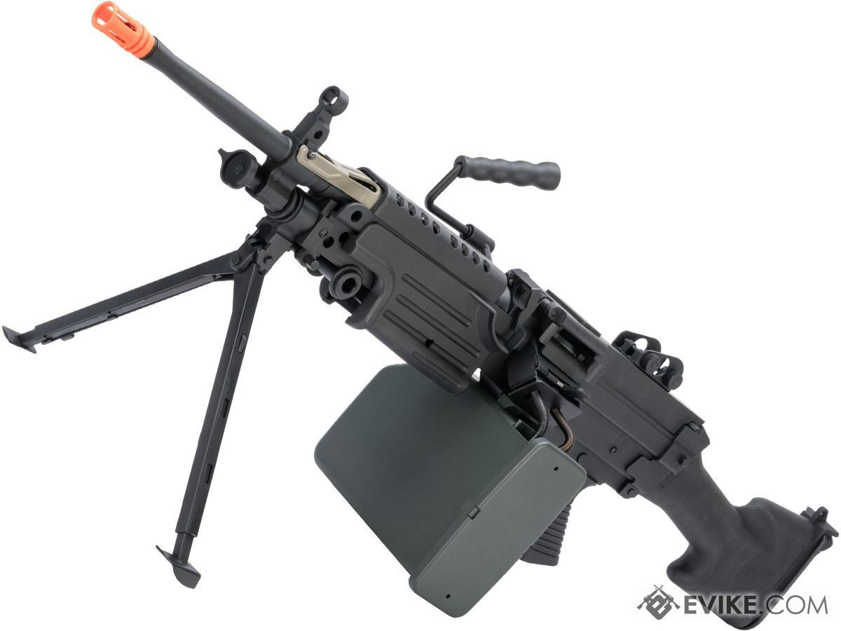 A&K / Cybergun FN Licensed Middleweight M249 SAW Machine Gun (Version: MK II / Black)