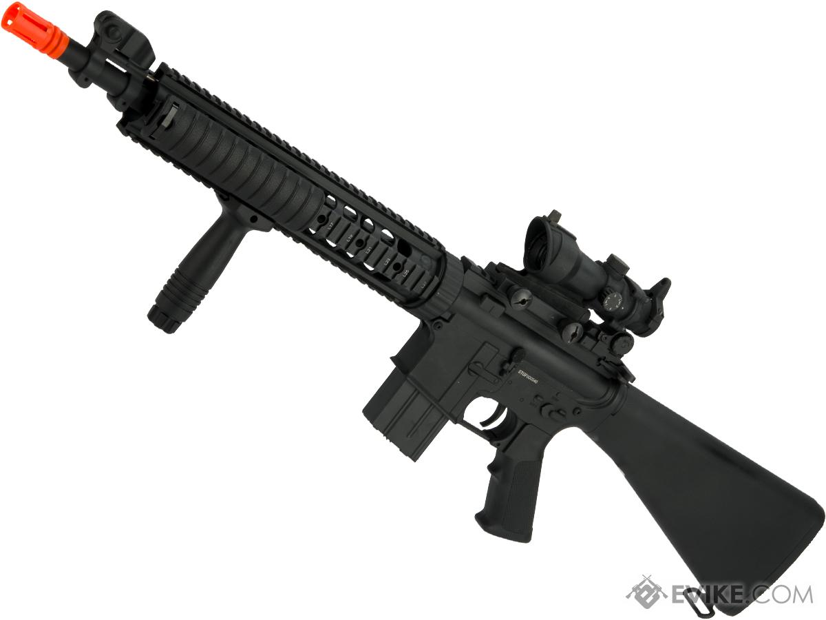 A&K Full Metal SPR Airsoft AEG with Fixed Stock