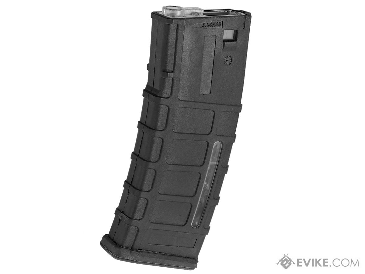 300rd ACR Type Hi-Cap Magazine for M4 M16 Series Airsoft AEG Rifles (Color: Black)