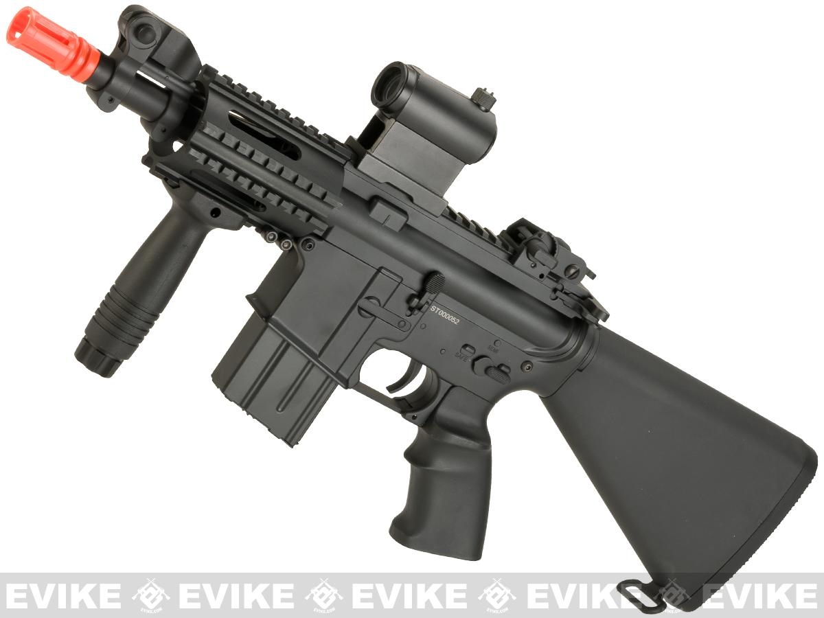 A&K NS15 Full Metal Lipo Ready M4 CQB Stubby Killer Airsoft AEG Rifle (Model: Beta)