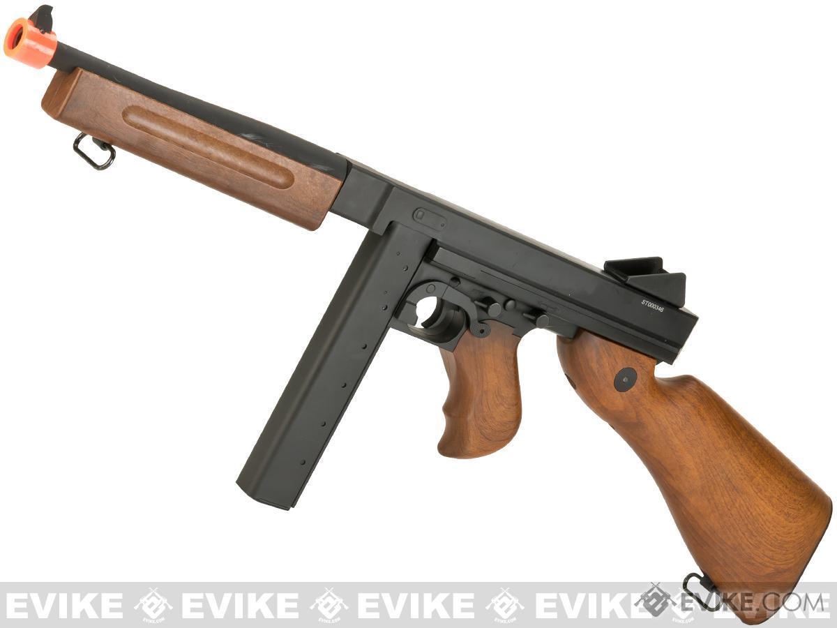Pre-Order ETA February 2018 A&K Thompson M1A1 Full Size 1:1 Scale High Grade Bolt Action Airsoft Rifle