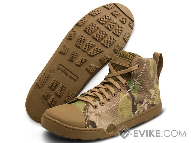 Altama OTB Maritime Mid-Length Assault Boots - Camo-Print (Color: Multicam / 9.5)