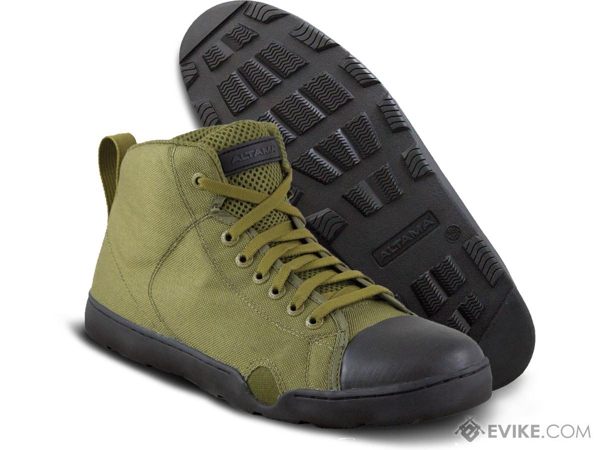 Altama OTB Maritime Mid-Length Assault Boots - Single Color (Color: Olive Drab / 8)