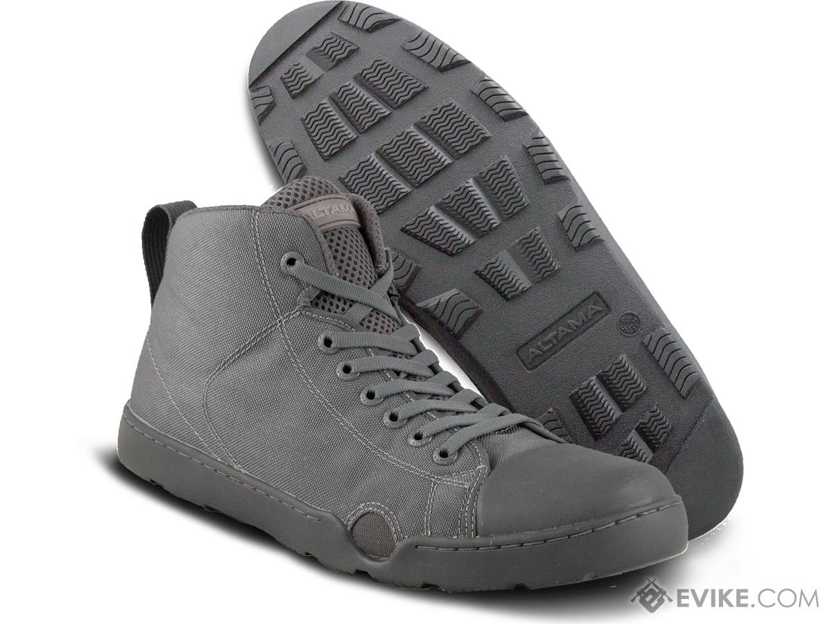 Altama OTB Maritime Mid-Length Assault Boots - Single Color (Color: Grey / 13)