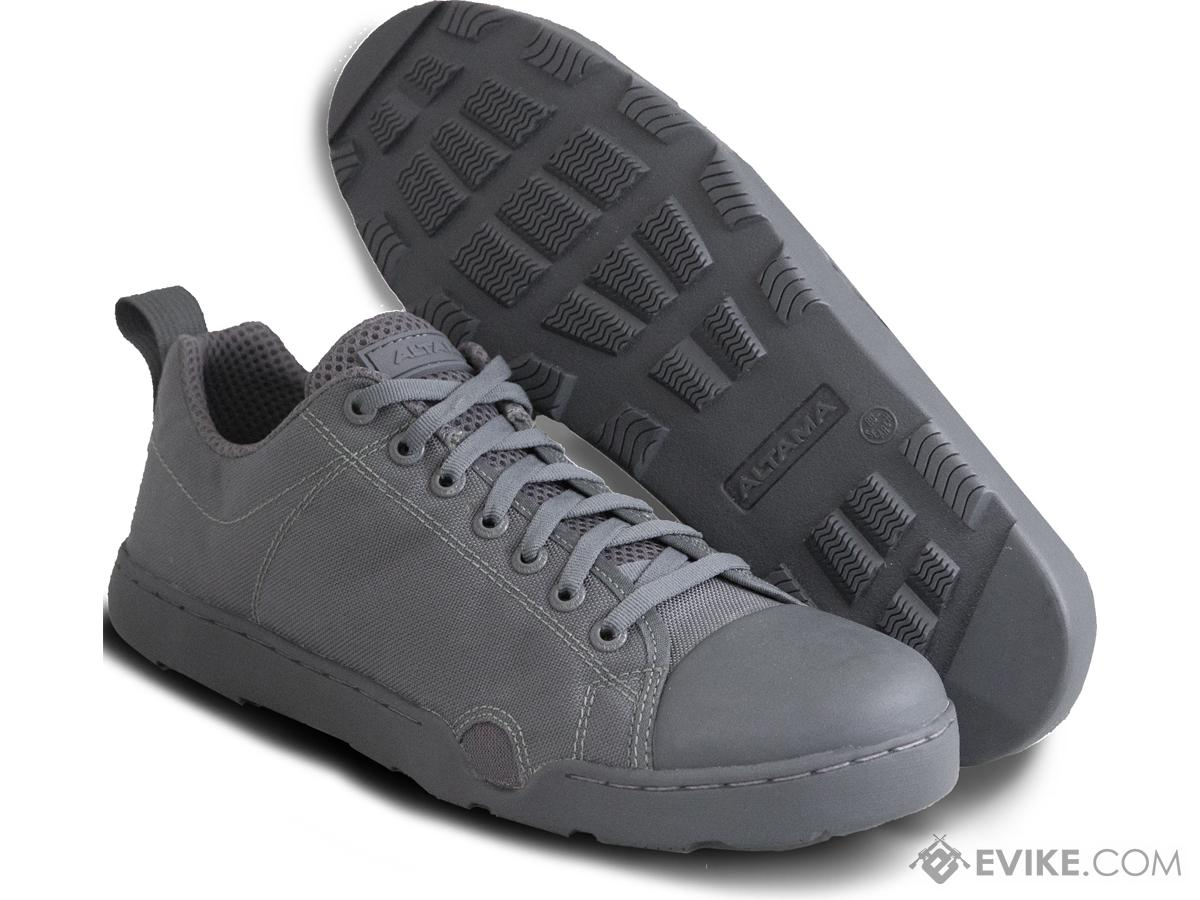 Altama OTB Maritime Low-Top Assault Boots (Color: Grey / 11.5)