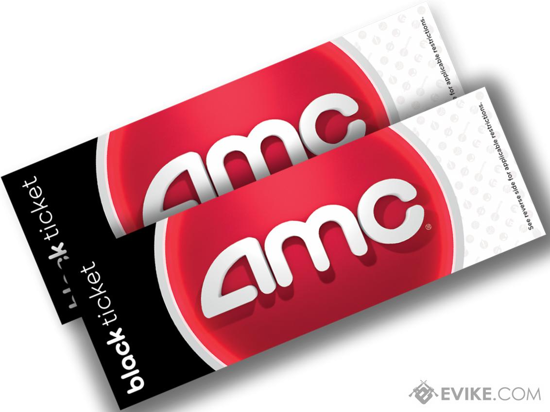 AMC Theater Black Movie Tickets (Package: 2 Tickets)