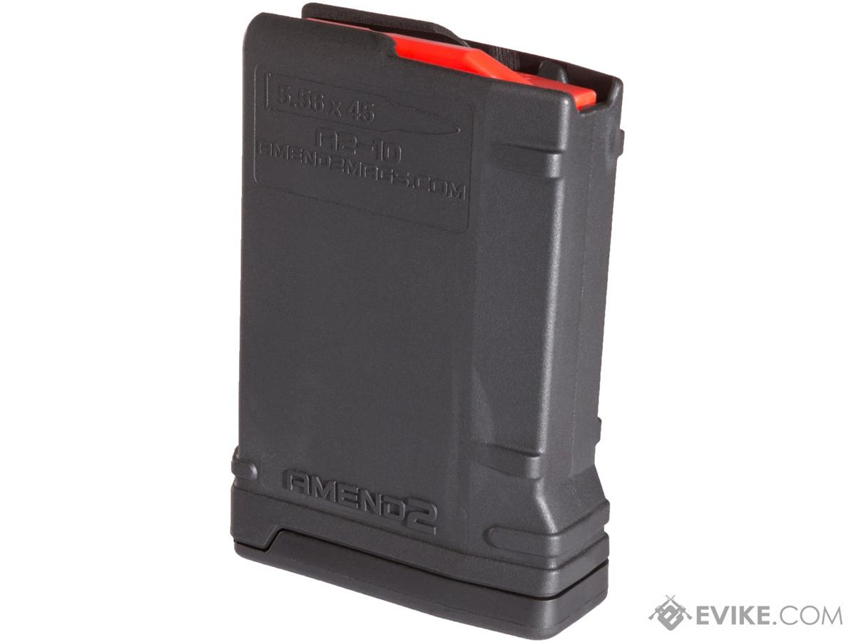 Amend2 AR-15 MOD-2 10 Round Magazine (Color: Black)