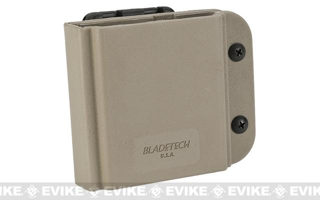 Blade-Tech Revolution AR-15 / M4 Single Mag Pouch - Tek-Lok (Right Hand Vertical - Tan)