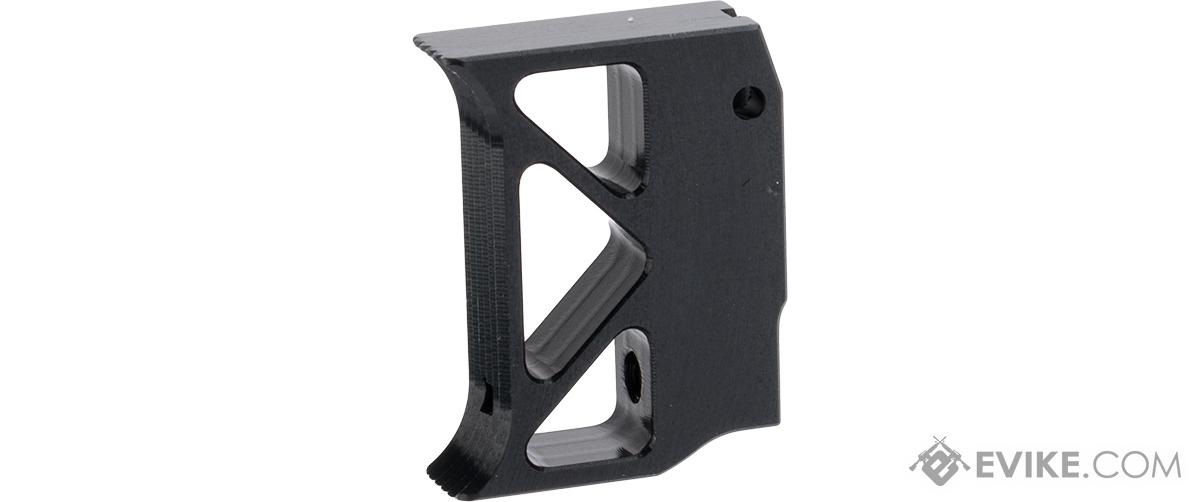 Airsoft Masterpiece Aluminum Trigger - Type 10 (Color: Black)