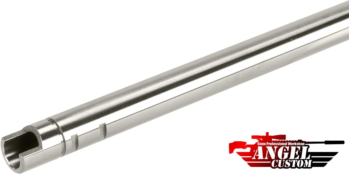 Angel Custom G2 SUS304 Stainless Steel Precision 6.01mm Airsoft WE-Tech GBB Tightbore Inner Barrel (Length: 363mm)