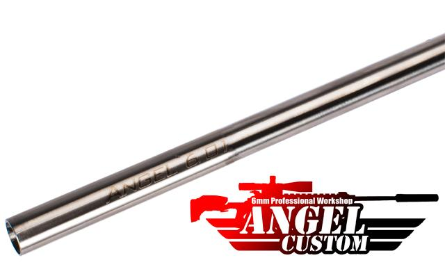 Angel Custom G2 SUS304 Stainless Steel Precision 6.01mm Airsoft AEG Tightbore Inner Barrel (Length: 407mm)