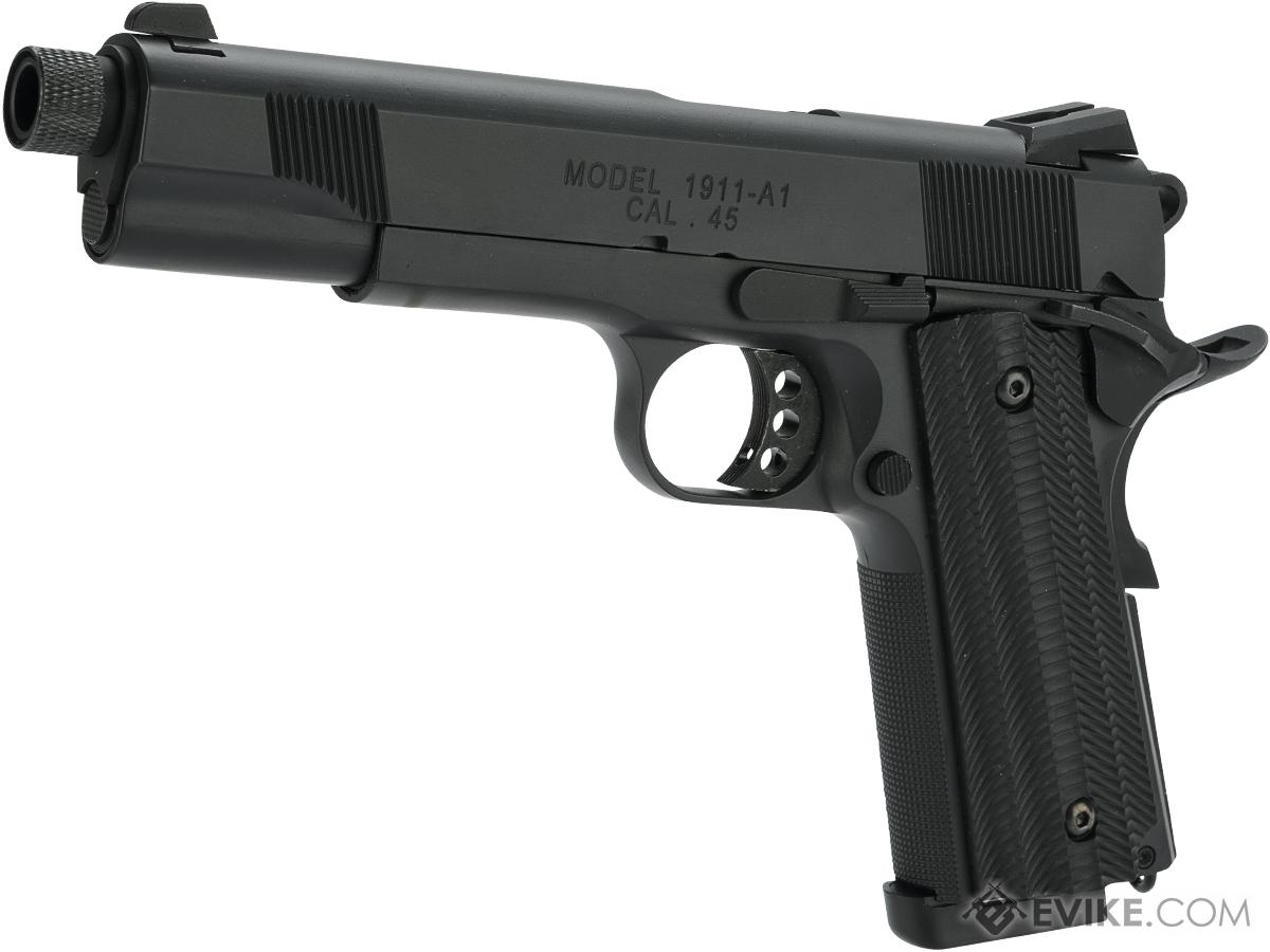 Unicorn Precision Inc / Angry Gun Custom Standard Non-Railed 1911 GBB Pistol (Color: Black)