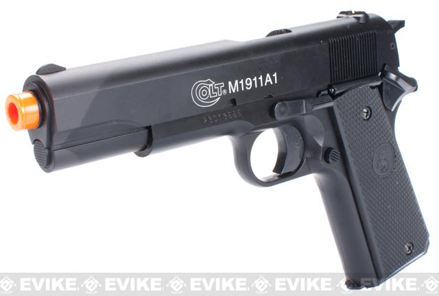 Colt M1911A1 Airsoft Spring Pistol with Metal Slide