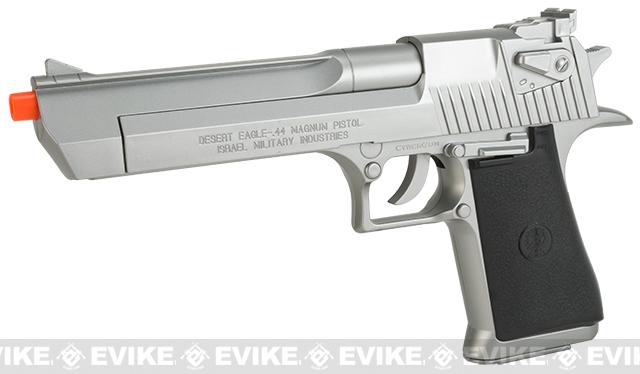 Desert Eagle Licensed Magnum 44 Airsoft Pistol (Color: Silver)