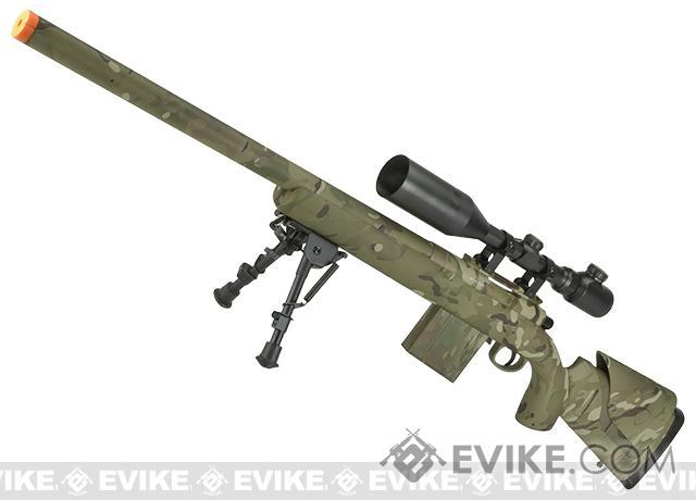 APS M40A3 Bolt Action Airsoft Sniper Rifle (Color: Multicam/ Rifle Only)