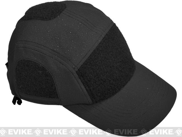 Hazard 4 Privateer SS Modular Softshell / Breathable Contractor Panel Cap - Black