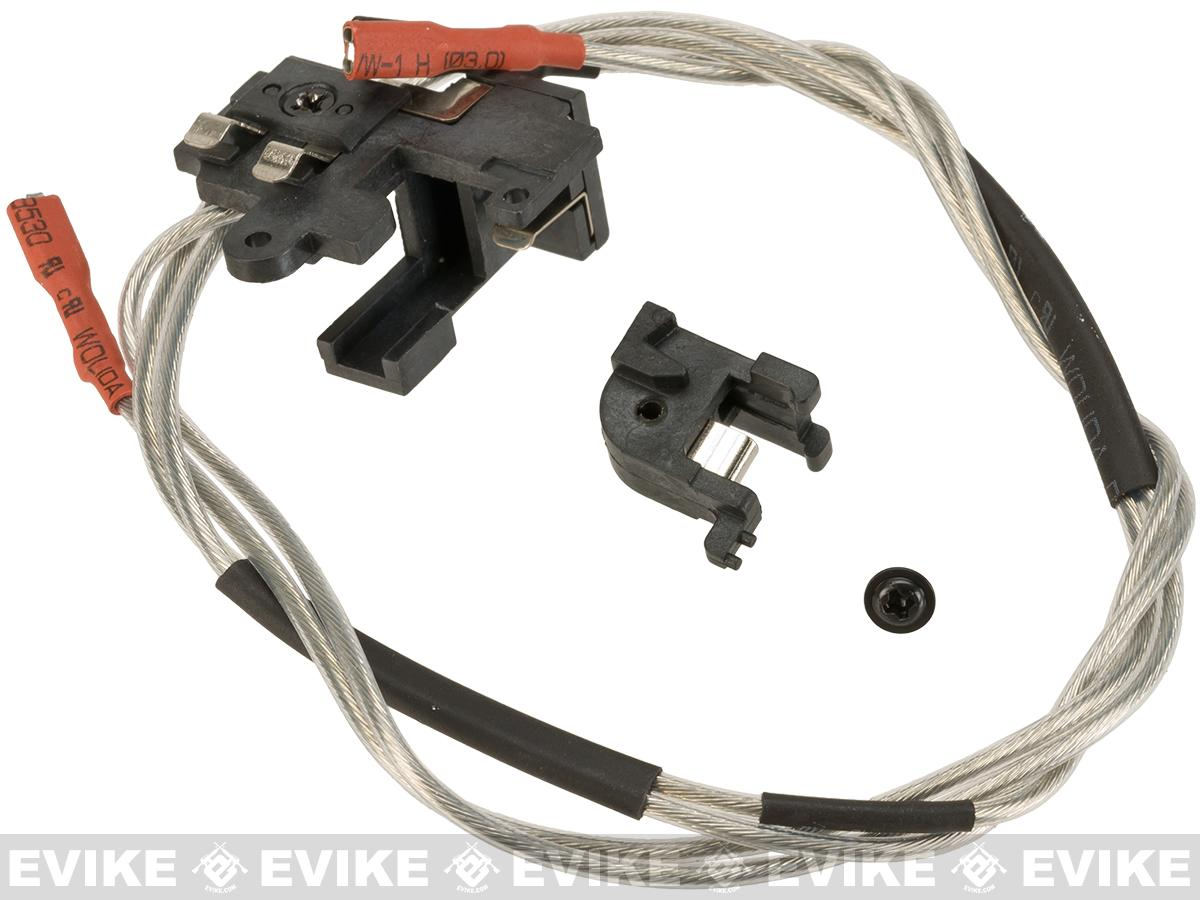 APS Wiring & Trigger Switch Assembly for Version 2 (M4 / M16 / MP5 / Ver.II) Series Airsoft AEG Rifles - (Front Wiring)