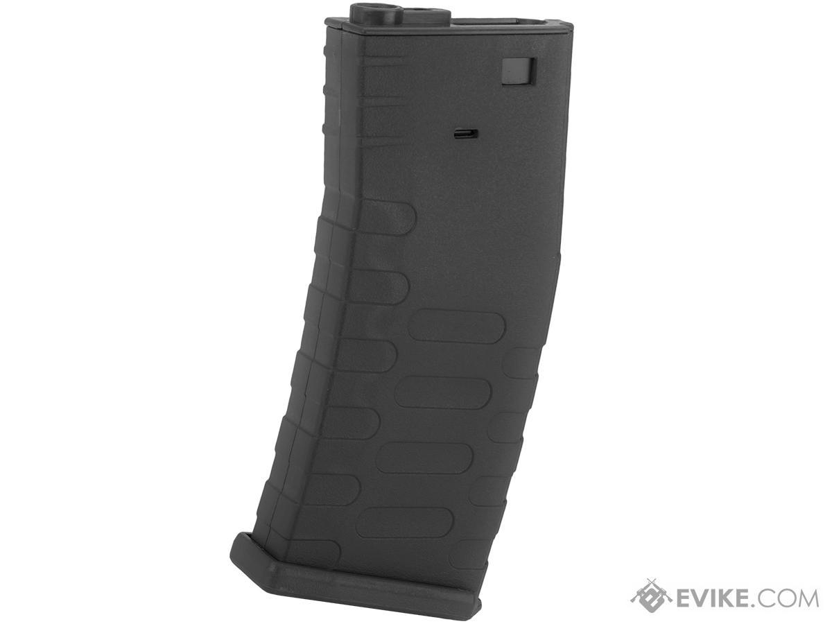 APS 300rd Hi-Capacity Magazine for M4 / M16 / UAR Series Airsoft AEG Rifles (Model: U-Mag / Black)