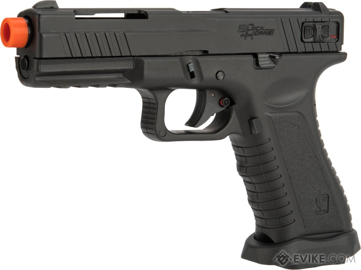 Pre-Order ETA June 2019 APS XTP Black Hornet Full Auto CO2 Powered Airsoft GBB Pistol (Color: Black)