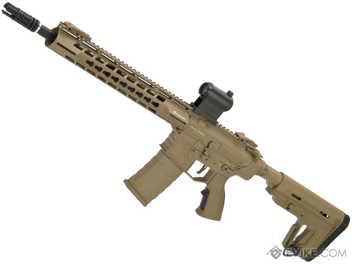 APS Phantom Extremis Mark II M4 AEG with 12.5 Keymod Handguard / Silver-Edge Gearbox (Color: Tan)
