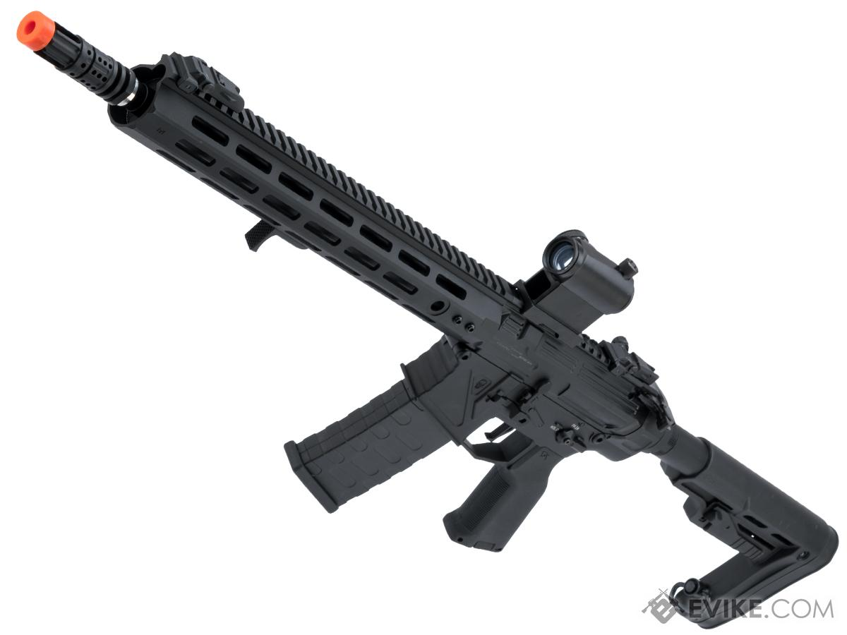 APS Phantom Extremis Mark VIII 2.0 eSilverEdge M4 Airsoft AEG with 13.5 M-LOK Handguard (Color: Black)