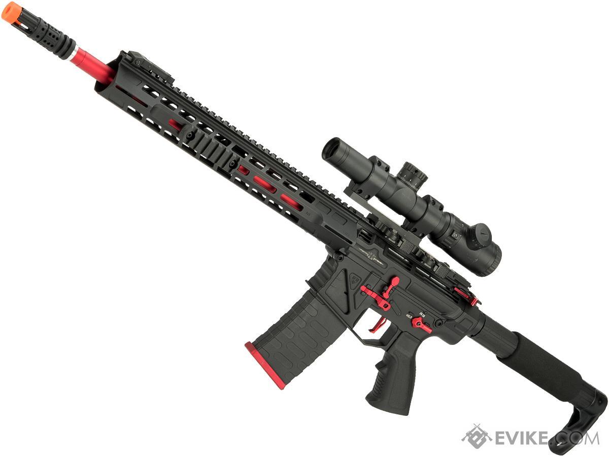 APS Phantom Extremis Mark III 2.0 eSilverEdge M4 AEG with 15 MLOK Handguard (Color: Black)