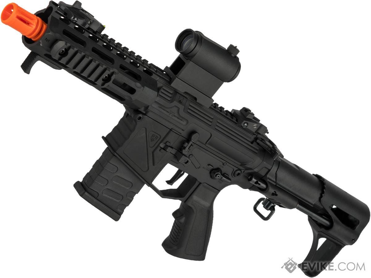 APS Phantom Extremis Mark VI PDW Style Airsoft AEG (Color: Black)