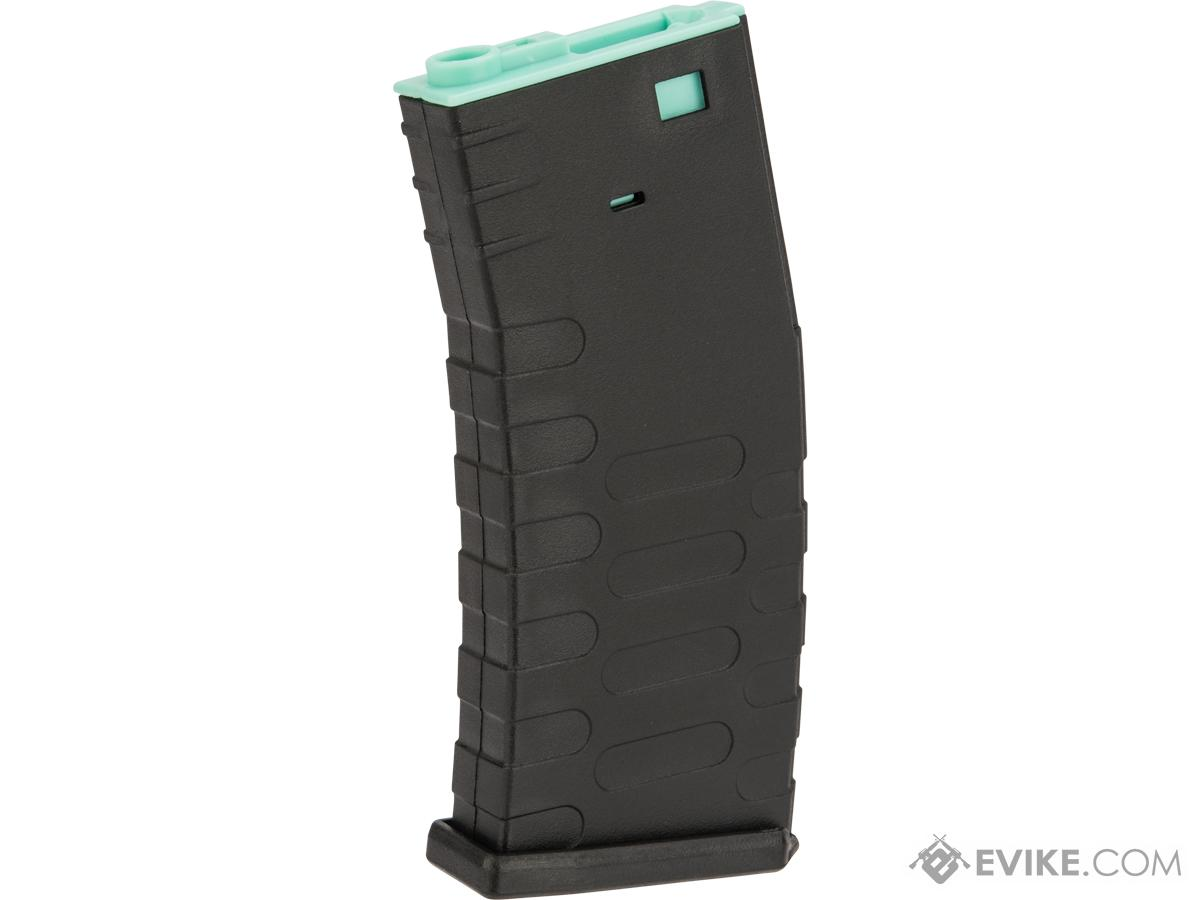 APS 300rd Hi-Capacity Magazine for M4 / M16 / UAR Series Airsoft AEG Rifles (Model: U-Mag / Turquoise Core)