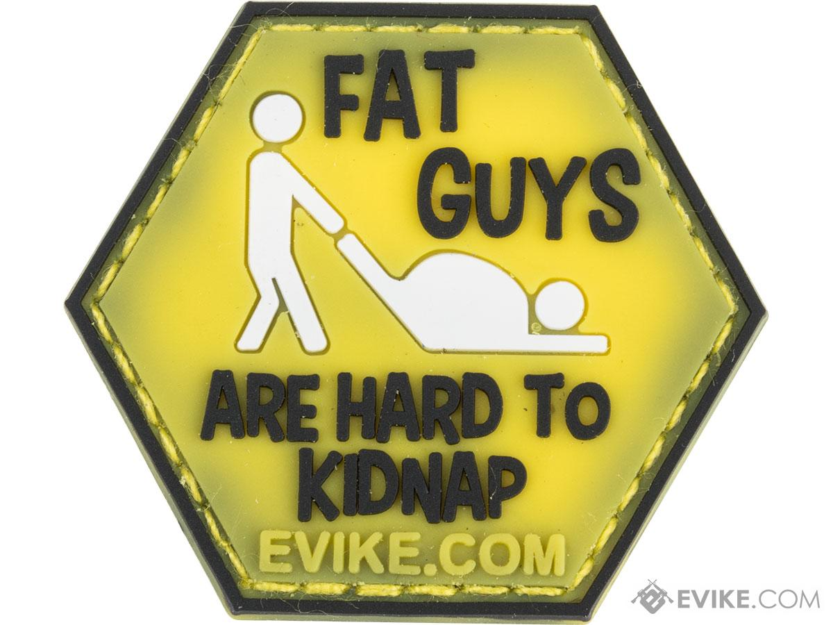 Operator Profile PVC Hex Patch Catchphrase Series (Style: Fat Guys)