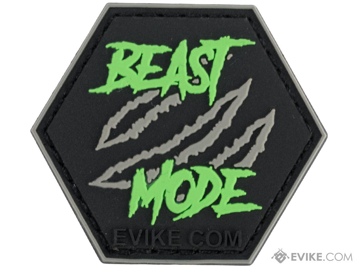 Operator Profile PVC Hex Patch Catchphrase Series (Style: Beast Mode)
