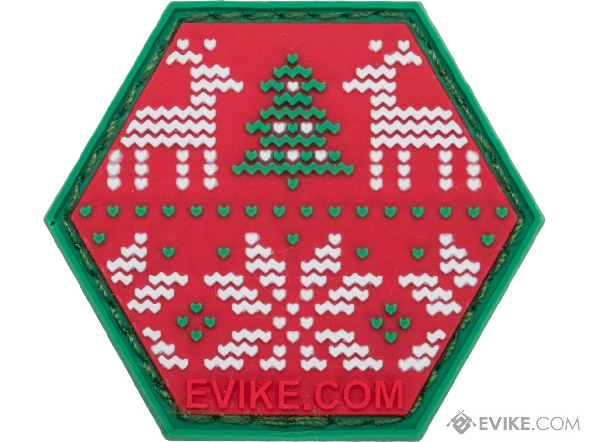 Operator Profile PVC Hex Patch - Ugly Christmas Sweater
