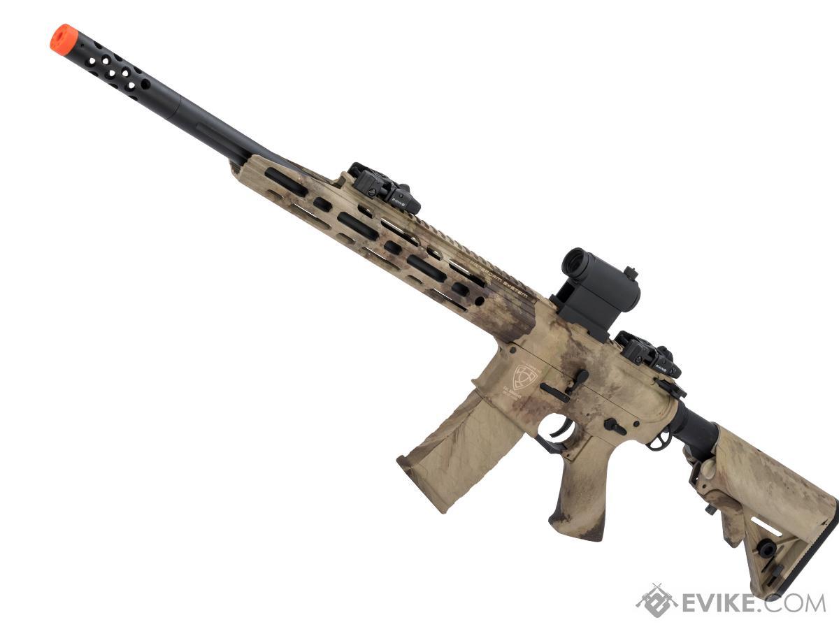 APS Guardian Match M4 Airsoft Electric Blowback AEG Sniper Rifle (Color: Atacs AU)