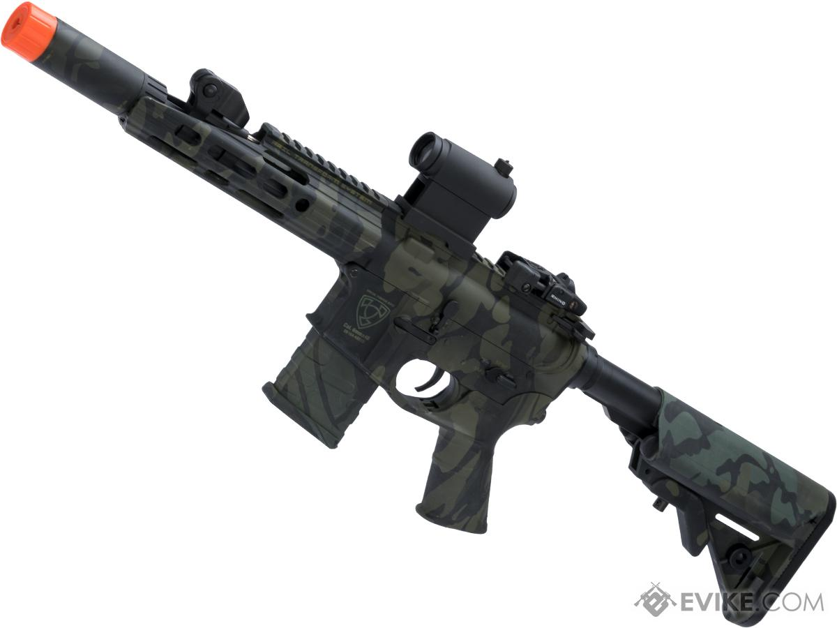 APS ASR112 Electric Blowback Airsoft M4 AEG (Color: Multicam Black / Crane Stock)