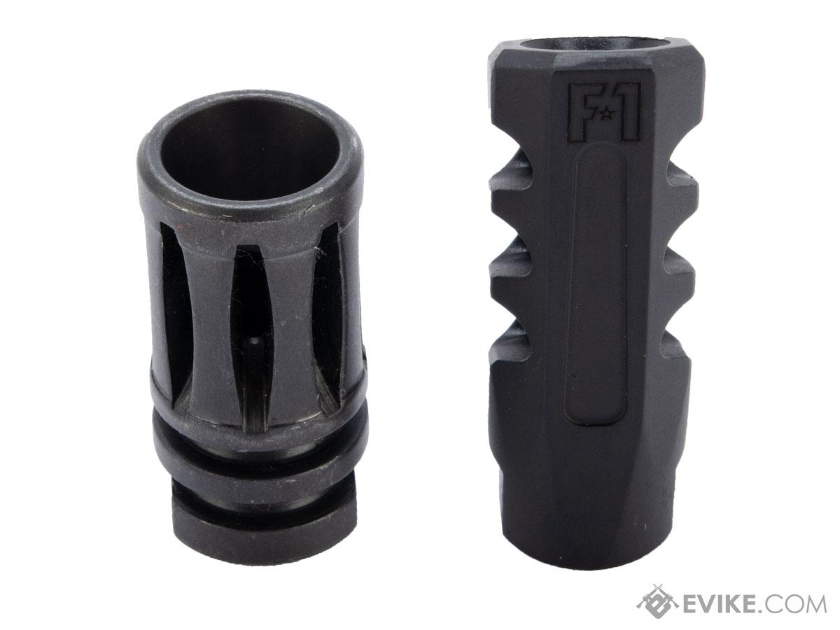 EMG / F-1 Firearms Angle Faced Muzzle Brake (Color: Black